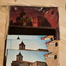 Postales: RODA DE ISABENA / HUESCA .- POSTAL , NEGATIVOS Y PRUEBA DE COLOR / EDICIONES PERGAMINO. Lote 223381262