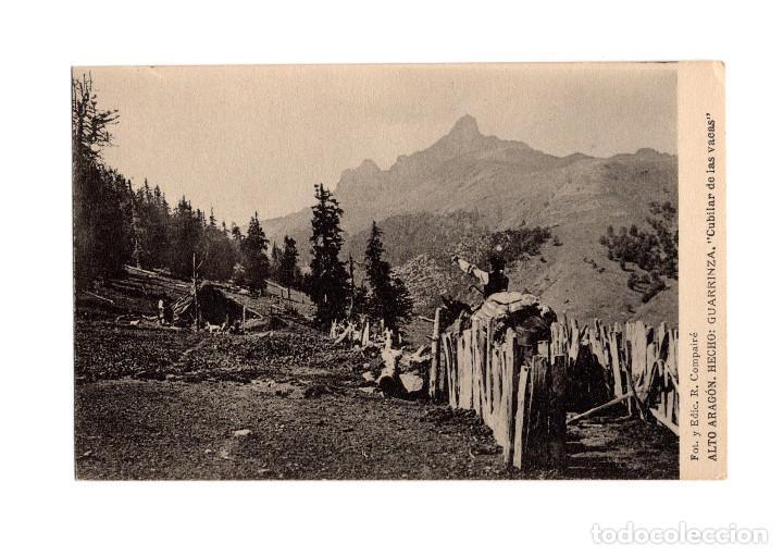 ALTO ARAGÓN.(HUESCA).- HECHO, GUARRINZA , CUBILAR DE LAS VACAS. (Postales - España - Aragón Antigua (hasta 1939))