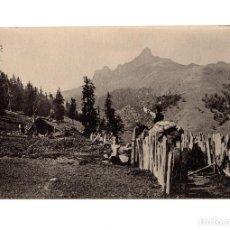 Postales: ALTO ARAGÓN.(HUESCA).- HECHO, GUARRINZA , CUBILAR DE LAS VACAS.. Lote 224113780