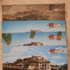 Postales: AINSA / HUESCA / VISTA PARCIAL / POSTAL , NEGATIVOS Y PRUEBAS DE COLOR / EDICIONES PERGAMINO. Lote 225532175