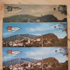 Postales: BOLTAÑA / HUESCA / VISTA PARCIAL / PRUEBAS DE COLOR Y NEGATIVOS / EDICIONES PERGAMINO. Lote 225534045