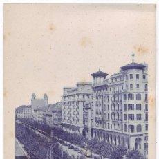 Postales: ZARAGOZA: PASEO DE LA INDEPENDENCIA. NO CONSTA EDITOR. NO CIRCULADA (AÑOS 20). Lote 226251275