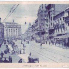 Postales: ZARAGOZA: CALLE DEL COSO. NO CONSTA EDITOR. NO CIRCULADA (AÑOS 20). Lote 226251965