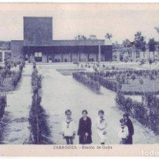 Postales: ZARAGOZA: RINCÓN DE GOYA. NO CONSTA EDITOR. NO CIRCULADA (AÑOS 20). Lote 226252501