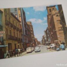 Postales: POSTAL HUESCA CITROEN 2 CV / LETRERO CORREOS / MOTOS AÑOS 60. Lote 226658400