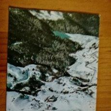 Cartoline: POSTAL - CANFRANC - CANDANCHU - PUERTO DE SOMPORT - VISTA AÉREA Y BOSQUE DE LAS HAYAS... Lote 226926960