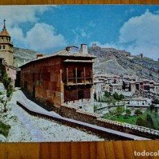 """Postales: POSTAL - ALBARRACIN - ALBERGUE S.F. """"ROSA BRIOS"""" Y VISTA PARCIAL.. Lote 227949225"""