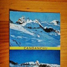 Cartoline: POSTAL - CANDANCHU (HUESCA) - MACIZO DEL ASPE - AL FONDO LA ZAPATILLA.. Lote 228254860