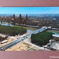 Postales: POSTAL 100 COMERCIAL JOSAN. BASÍLICA DEL PILAR. PUENTE DE SANTIAGO. ZARAGOZA. 1970. SIN CIRCULAR.. Lote 230258280