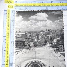 Cartes Postales: POSTAL DE ZARAGOZA. AÑOS 30 50. PLAZA BASILIO PARAISO. TROLEBUS PHILIPS. 90 SICILIA. 2149. Lote 230905440