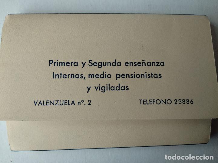 Postales: BLOC 17 POSTALES. COLEGIO CALASANZ M.M. ESCOLAPIAS DE ZARAGOZA. ED. ARRIBAS. - Foto 2 - 231005610