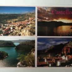 Postais: CASTELLOTE, TERUEL. EL PANTANO Y LAS PEÑAS.. Lote 276040758