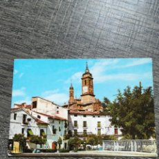 Postales: POSTAL ATECA ZARAGOZA PLAZA DE ESPAÑA. Lote 233658000