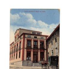 Postales: ALHAMA DE ARAGÓN.(ZARAGOZA).- TERMA PRIMITIVA O BAÑO DEL MORO. CARRUAJE. C. KINDER Y CIA.. Lote 233842865