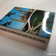 Postales: BLOC DE 22 FOTOGRAFÍAS DE ZARAGOZA. Lote 234619850