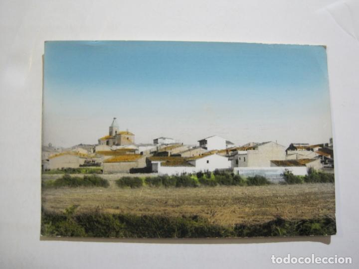PERALTA DE ALCOFEA-VISTA PARCIAL-LAB·FOTO·GARVILLA-POSTAL ANTIGUA-(76.818) (Postales - España - Aragón Antigua (hasta 1939))