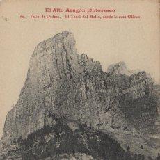 Postales: HUESCA. EL ALTO ARAGÓN PINTORESCO. Nº 60 ,ORDESA TOZAL DEL MALLO -CASA OLIVAN .POSTAL LUCIEN BRIET. Lote 234941505