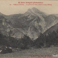 Postales: HUESCA. EL ALTO ARAGÓN PINTORESCO. Nº 62 ORDESA PUNTA DE OTAL -CASA OLIVAN .POSTAL LUCIEN BRIET. Lote 234942445