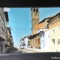 Postales: LA PUEBLA DE ALFINDEN , ZARAGOZA , ARAGÓN , VISTA PARCIAL , FOTOGRÁFICA .. Lote 235246215