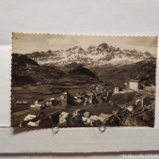 Postales: 1 PANTICOSA, PUEBLO. VISTA GENERAL. DANIEL ARBONÉS. Lote 235556255