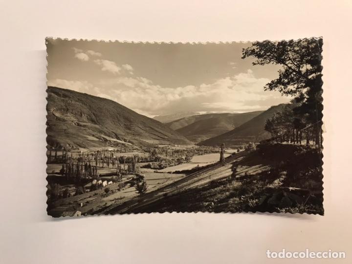 JACA (HUESCA) POSTAL NO.15, VISTA DEL VALLE. EDIC., SICILIA (H.1960?) DEDICADA. (Postales - España - Aragón Moderna (desde 1.940))