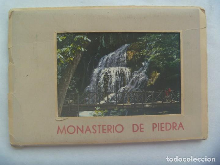 ACORDEON CON 10 POSTALES DE MONASTERIO DE PIEDRA ( ZARAGOZA ). AÑOS 60 (Postales - España - Aragón Moderna (desde 1.940))