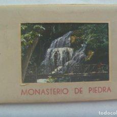 Postales: ACORDEON CON 10 POSTALES DE MONASTERIO DE PIEDRA ( ZARAGOZA ). AÑOS 60. Lote 236680985