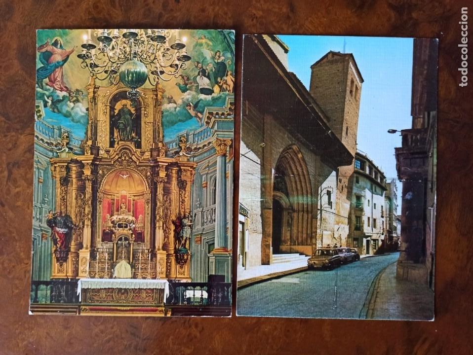 2 POSTALES CALATAYUD EDICIONES SICILIA (Postales - España - Aragón Moderna (desde 1.940))