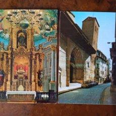 Postales: 2 POSTALES CALATAYUD EDICIONES SICILIA. Lote 236709340
