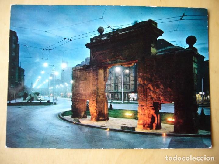 ZARAGOZA - PUERTA DEL CARMEN (ESCRITA Y CIRCULADA) (Postales - España - Aragón Moderna (desde 1.940))