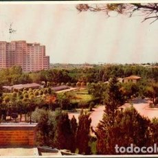 Postales: POSTAL ZARAGOZA PARQUE PRIMO DE RIVERA ED. ESPERON 1956. Lote 236806320