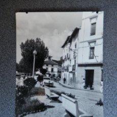 Postales: ATECA ZARAGOZA CALLE GOYA RARA POSTAL FOTOGRÁFICA ANTIGUA. Lote 237327350