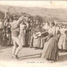 Postales: ARAGON Nº81 LA JOTA L. ESCOLA CIRCULADA EN 1907. Lote 238623905