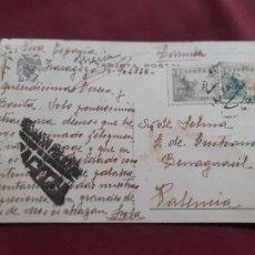 Postais: CENSURA MILITAR DE ZARAGOZA. POSTAL DE LA VIRGEN DEL PILAR. 1939. Lote 238829765