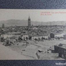 Postales: ARAGON ZARAGOZA CALATAYUD LAS CUATRO PARROQUIAS POSTAL ANTIGUA MOD 2. Lote 240895295