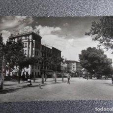 Postales: ARAGON ZARAGOZA CALATAYUD PASEO CALVO SOTELO PLAZA GENERALISIMO POSTAL ANTIGUA. Lote 240895335
