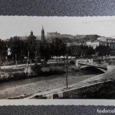 Postales: ARAGON ZARAGOZA CALATAYUD PUENTE SOBRE EL RIO JALON POSTAL ANTIGUA. Lote 240895360