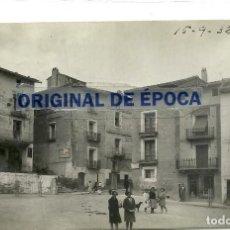 Postais: (PS-64538)POSTAL FOTOGRAFICA DE EJEA DE LOS CABALLEROS-VISTA GENERAL DE LA PLAZA DE LA CONSTITUCION. Lote 241773130