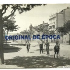Postais: (PS-64539)POSTAL FOTOGRAFICA DE EJEA DE LOS CABALLEROS-PASEO DE ALFONSO XIII. Lote 241773420