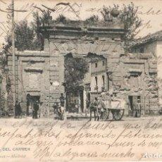 Postales: ZARAGOZA 1197 PUERTA DEL CARMEN H. Y M. CIRCULADA. Lote 243404335