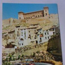 Postales: ANTIGUA POSTAL CPSM, CARRERAS COCHES, CIRCUITO GUADALOPE, ALCAÑIZ, VER FOTOS. Lote 243625435