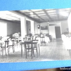 Postais: COMEDOR DEL HOTEL TURBON.FOTO GALLEGO.GRAUS (HUESCA).. Lote 243661565