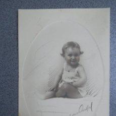 Postales: BONITA FOTOGRAFÍA COLOREADA A MANO DE JALÓN ÁNGEL ZARAGOZA TAMAÑO POSTAL - FIRMADA. Lote 243671130