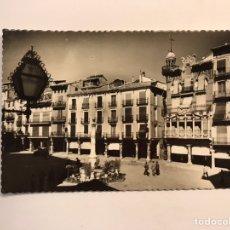 Postales: TERUEL. POSTAL NO. 8, PLAZA DE CARLOS CASTEL EDIC. GARCIA GARRABELLA (H.1950?) CÍRCULADA. Lote 243774100
