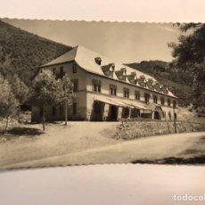 Postales: ARGUIS (HUESCA) POSTAL NO.4, RESIDENCIA, EDUCACIÓN Y DESCANSO. EDIC. DANIEL ARBONES (H.1960?). Lote 243806860