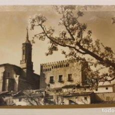 Postales: POSTAL CALATORAO, IGLESIA Y CASTILLO, ED. L. MONTAÑÉS. Lote 243814755