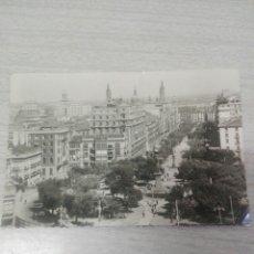 Postales: POSTAL N 2 ZARAGOZA PANORÁMICA DE LA PLAZA DE ARAGÓN Y PASEO DE LA INDEPENDENCIA. Lote 243867995