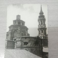 Postales: POSTAL DE ZARAGOZA TORRE Y ZIMBORRO DE LA SEO. Lote 243869440
