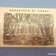 Cartes Postales: ANTIGUO ESTUCHE Nº 2 DE 10 POSTALES EN ACORDEON DEL MONASTERIO DE PIEDRA EDICIONES GARRABELLA. Lote 243974960