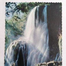 Postales: POSTAL ZARAGOZA, MONASTERIO DE PIEDRA, CASCADA TRINIDAD, AÑOS 60. Lote 244975580
